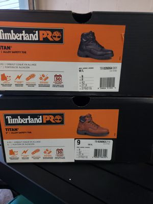 Timberland work boots size 9US for Sale in Perth Amboy, NJ