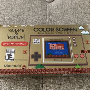 Nintendo Game & Watch Super Mario Bros. for Sale in Fontana, CA
