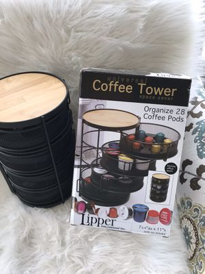 Lipper Universal Coffee Tower Space Saver Coffee Pods 28 for Sale in MENTOR ON THE, OH