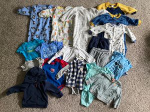 Kids baby clothes 9 months boy for Sale in Aurora, IL