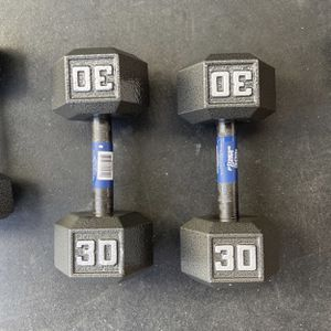 30 Pound Dumbbells for Sale in Los Angeles, CA
