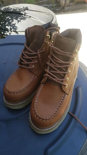 Lether Working boots men zise 7.5 for Sale in San Lorenzo, CA