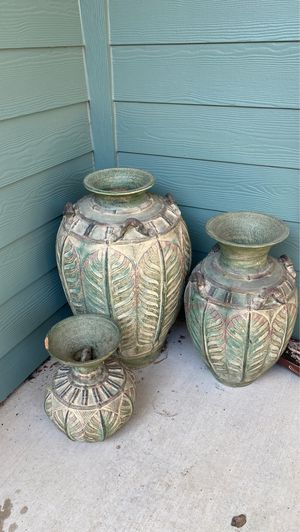 Plant pots for Sale in Mansfield, TX