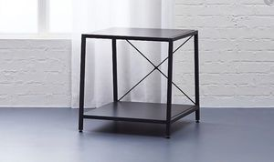 CB2 Carbon Grey Nightstand for Sale in Greenwich, CT