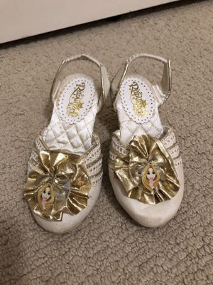 Girls Rapunzel Dress Up Shoes size 7/8 for Sale in Escondido, CA