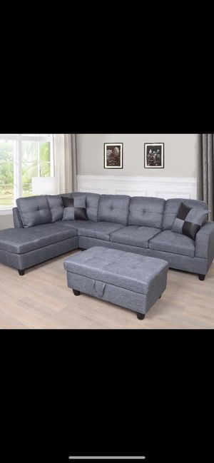 Special Brand New Sectional Sofa with Ottoman Storage ⭐️😊⭐️ for Sale in Chula Vista, CA