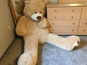 Huge plush Teddy Bear for Sale in Junction City, WI