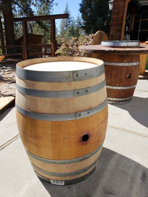 Stained Wine Barrels For Sale In Big Bear Ca Offerup