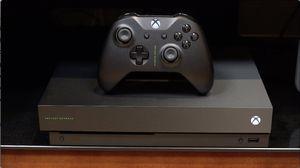 Xbox one X Project Scorpio for Sale in Des Plaines, IL
