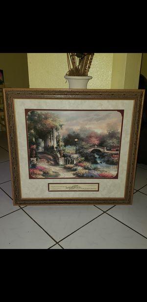 Cuadro grande con vidrio, precio original $210, lo vendo x $35, mide 35x37 for Sale in Humble, TX