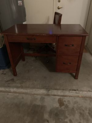 Pottery Barn for kids desk and matching chair for Sale in Phoenix, AZ