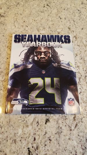 Marshawn Lynch 2012 Seahwaks Yearbook for Sale in East Wenatchee, WA