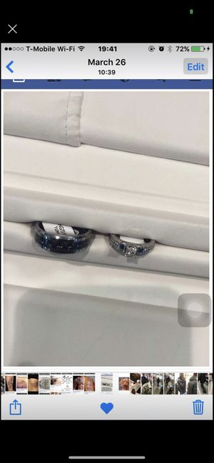 Wedding Rings for Sale in Prince George, VA