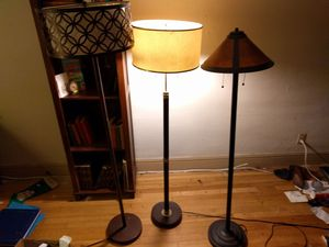 Floor Lamps-Pottery Barn Home Goods Pier One for Sale in Stockton, CA
