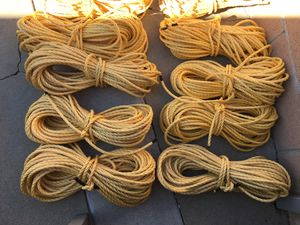Hundred feet of 3/8 nylon rope for Sale in Alhambra, CA