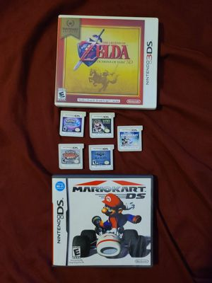 Nintendo 3DS & DS Game Lot (7 games) for Sale in Federal Way, WA