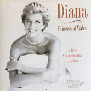 Princess of Wales Diana 1998 Commemorative calendar for Sale in Glendale, AZ