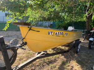 Boat and motor for Sale in Salt Lake City, UT