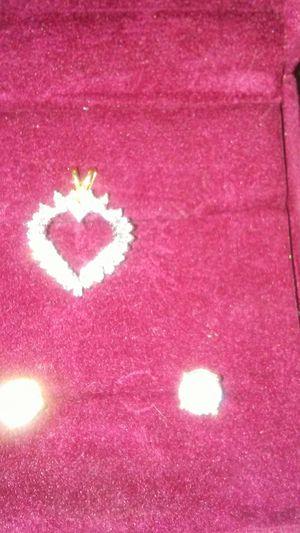 Set of gold diamond white gold for Sale in Turlock, CA