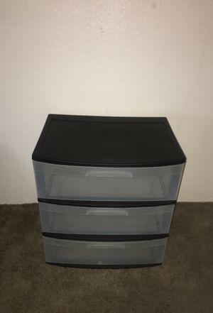 Sterilite plastic drawers for Sale in Seattle, WA