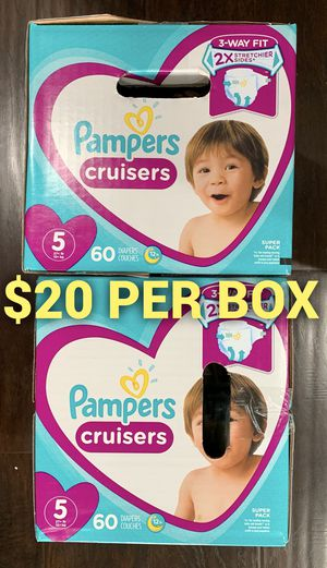 Pampers Cruiser size 5 for Sale in Long Beach, CA