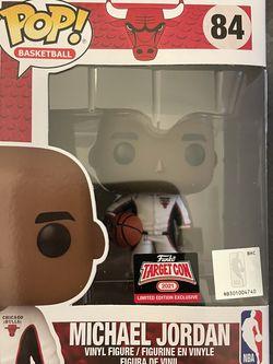 Michael Jordan Target Con Exclusive Funko Pop for Sale in Pasadena,  MD