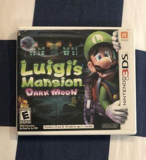 Nintendo 3DS (Luigi's Mansion Dark Moon) for Sale in Staten Island, NY