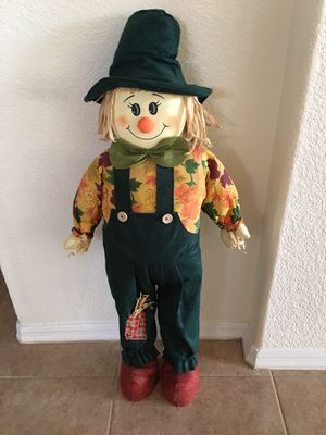 Halloween scarecrow and witch for Sale in Gilbert, AZ