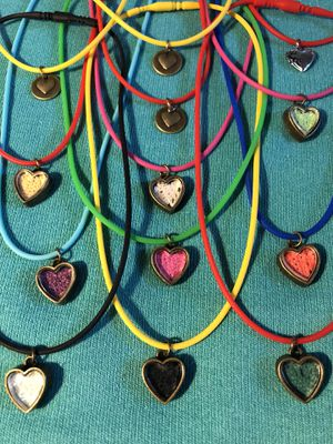 stretchie cord hearts $7 each for Sale in Salinas, CA