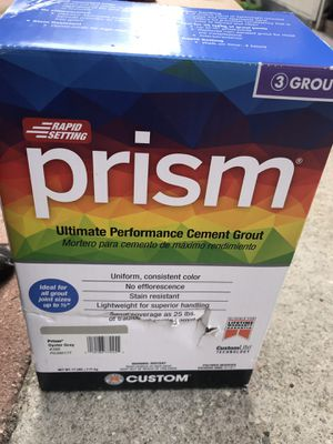 Prism Grout Oyster Gray for Sale in Santa Ana, CA