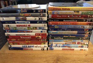 Kids DVD's(30)-Disney/Pixar/Misc Mix for Sale in Cloverdale, VA