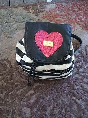 Betsy Johnson backpack purse for Sale in Plant City, FL