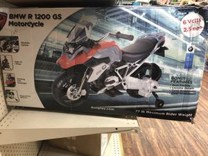 Rollplay BMW 6V Motorcycle for Sale in Dallas, TX