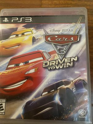 PlayStation 3 cars game for Sale in Paterson, NJ