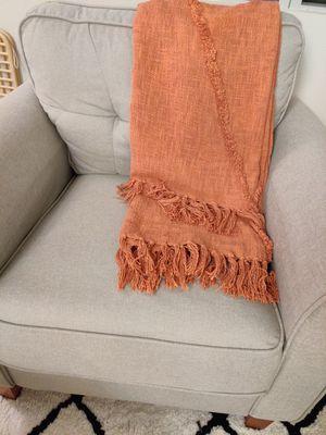 Terracotta throw blanket for Sale in Seattle, WA
