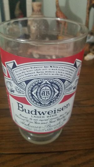 Budweiser collectible glass for Sale in St. Louis, MO