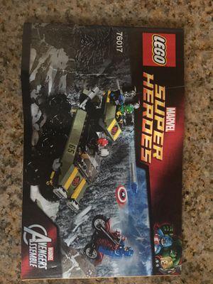 LEGO Superhero Captain America vs Hydra for Sale in Elk Grove, CA