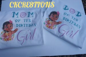 Moana Custom Shirts Any Theme.. for Sale in Mesquite, TX