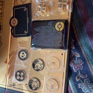 Pokemon Sword & Shield Zacian & Zamazenta Ultra-Premium Collection (Accessories) Read Description! for Sale in Calumet City, IL