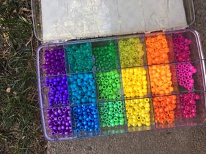 FREE Giant Lot of of Plastic Beads / Rave Candy for Sale in Modesto, CA
