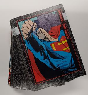 DOOMSDAY: THE DEATH OF SUPERMAN (Skybox/1992) Complete Card Set + FUNERALS, CL1 & F1 for Sale in Lakewood, WA