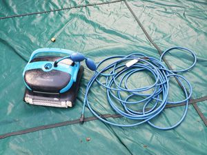 Dolphin Nautilus Plus Pool Inground Robotic Vacuum WORKS No Power Supply *AS IS* for Sale in Falls Church, VA