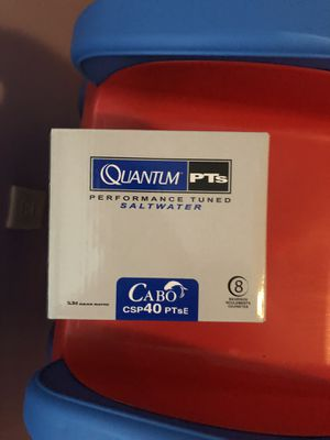 Quantum fishing reel BRAND NEW asking $85 for Sale in Atwater, CA