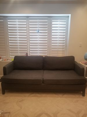 Mid Century Modern Grey Sofa for Sale in Los Angeles, CA