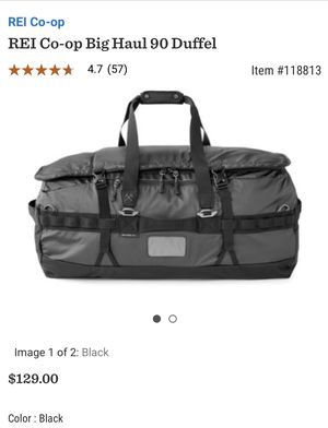 REI Big Haul 90L Duffle Bag for Sale in Las Vegas, NV