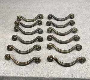 12 pcs Drawer Pulls Handles Antique Cabinet Drop Bail Pulls Handles for Sale in Los Angeles, CA