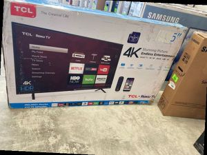 "TCL/Roku 55"" 555403 55"" 4K UHD Ro 9B for Sale in Dallas, TX"