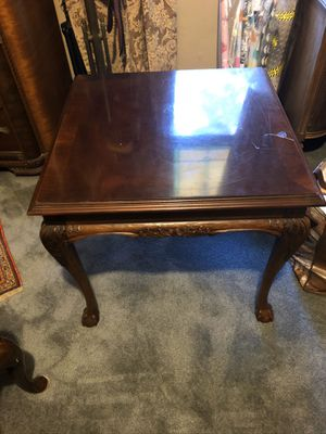 Antique wooden coffee table for Sale in Houston, TX