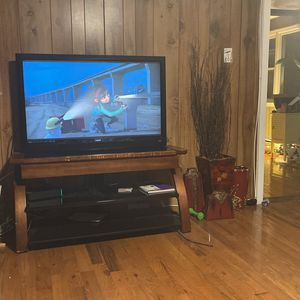 60in. tv And Stand Need Gone Asap for Sale in New Haven, CT