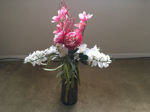 Vase and flower for Sale in Crafton, PA